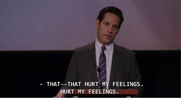 Paul Rudd as Bobby Newport in Parks and Recreation