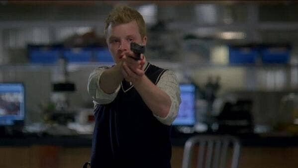 Noel Fisher as Dale Stuckey in Law & Order: Special Victims Unit