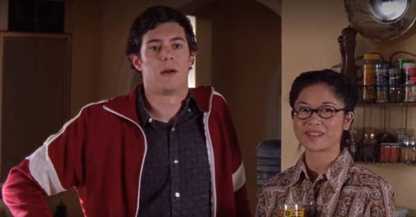 Adam Brody as Dave Rygalski in Gilmore Girls