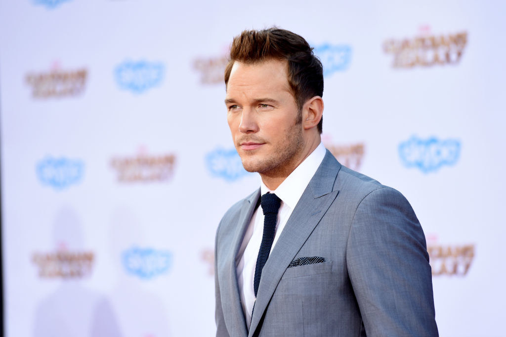 """actor who played Star-Lord in """"Guardians of the Galaxy"""""""