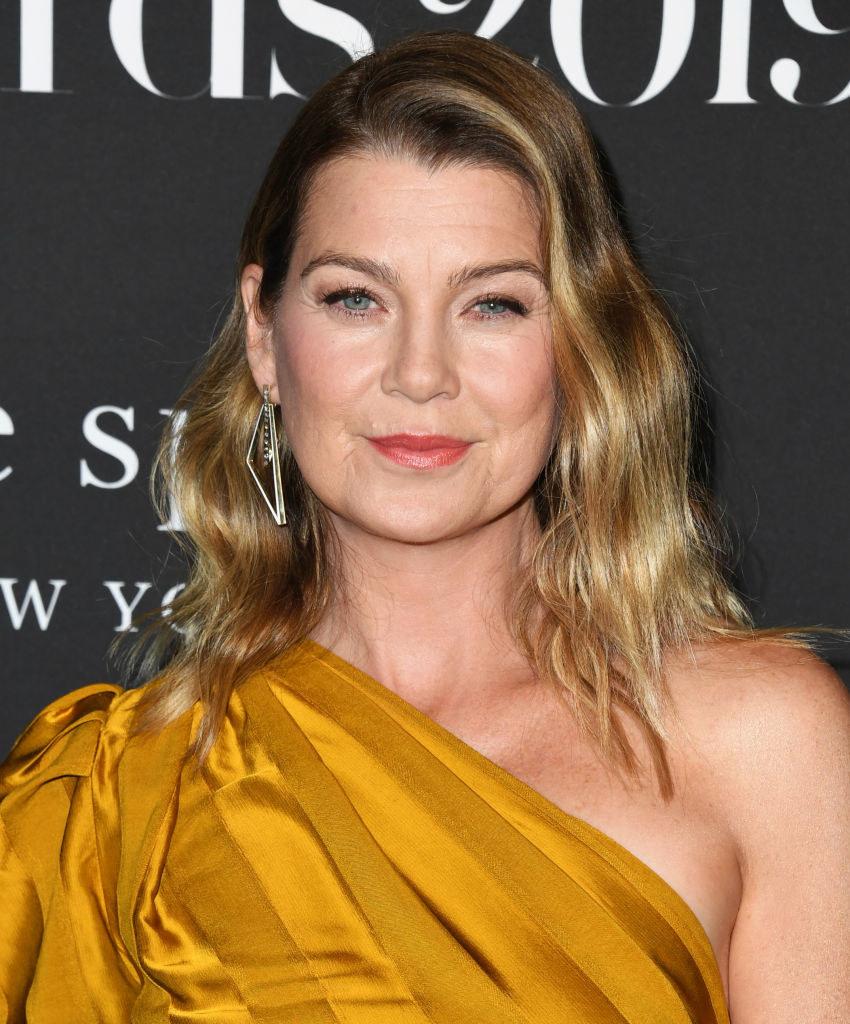 "actor who plays Meredith Grey on ""Grey's Anatomy"""