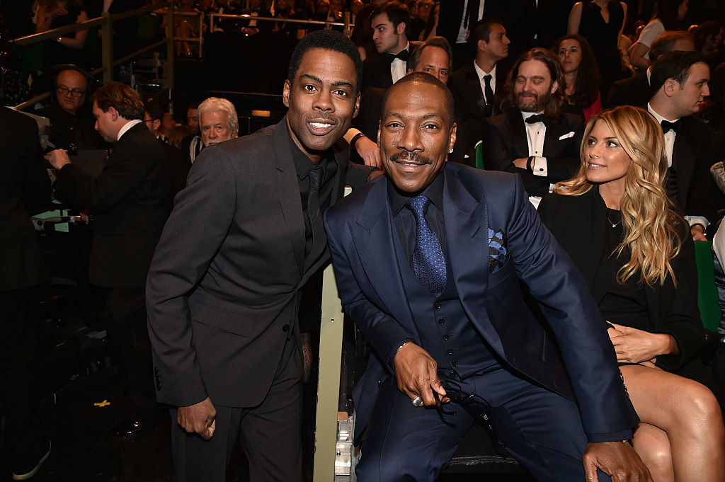 Chris Rock and Eddie Murphy together