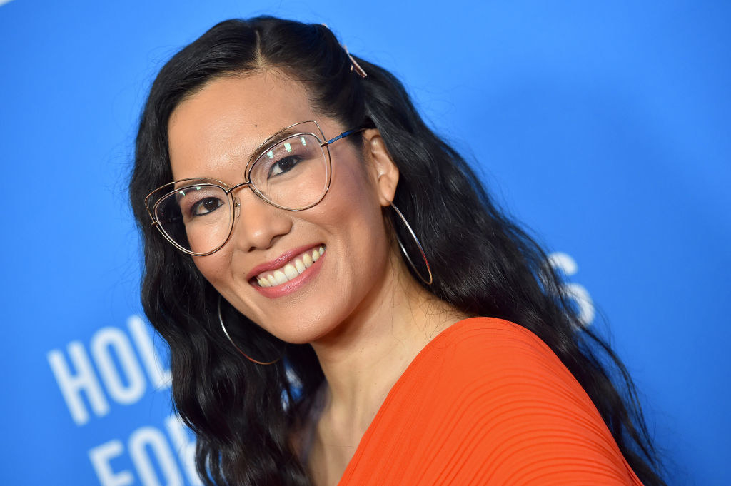 Ali Wong on the red carpet