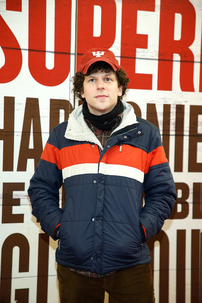 """Jesse Eisenberg at the Broadway Opening Night of """"Girl From The North Country"""""""