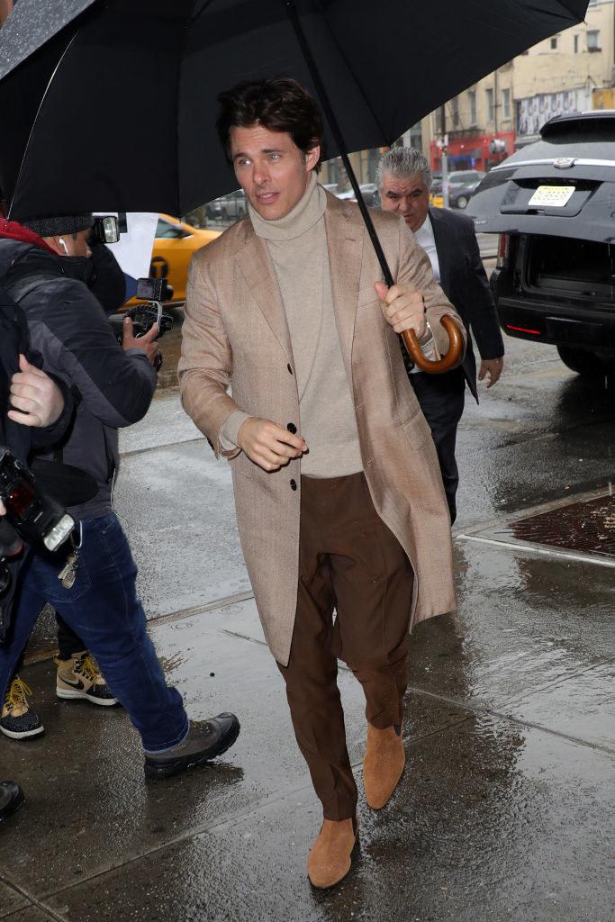 James Marsden on the streets of New York City