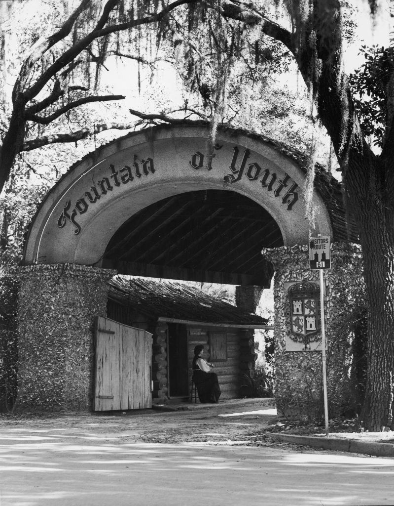 The Fountain of Youth in 1950