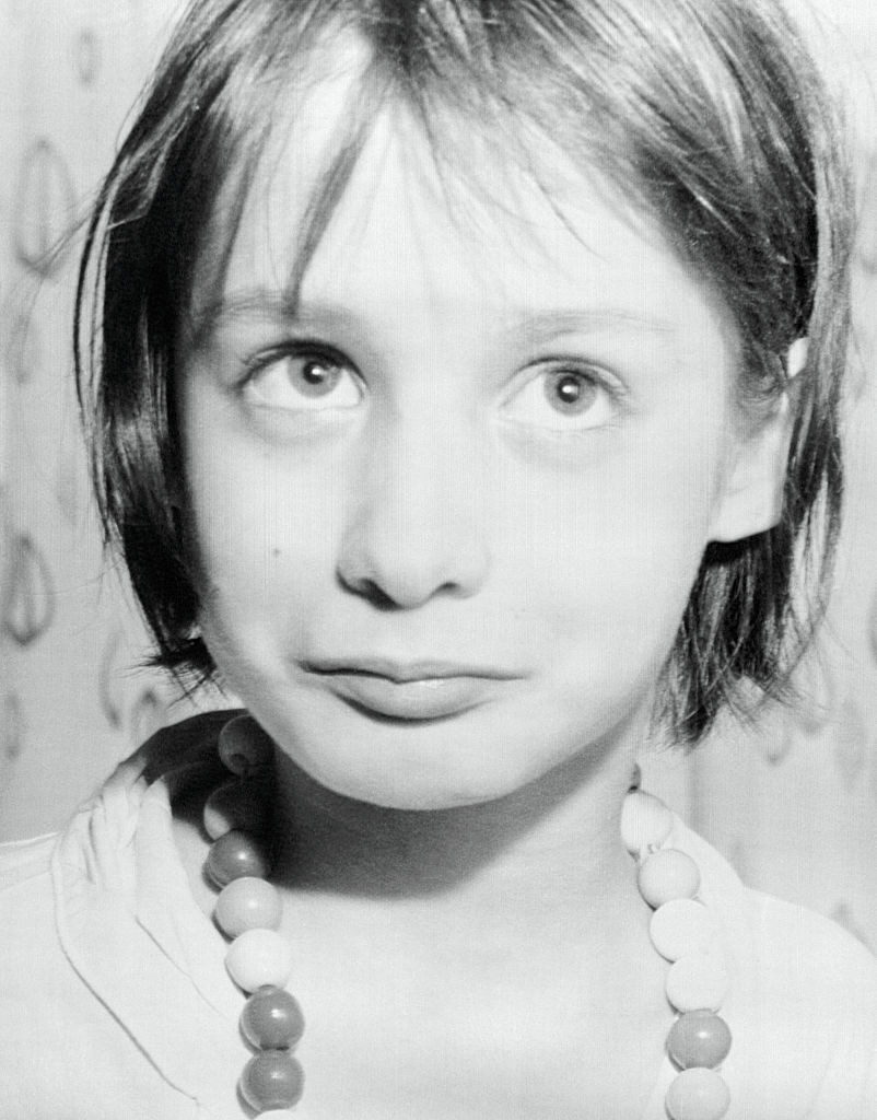 """Genie, a """"feral child"""" who was abused in the 1960s and was studied"""