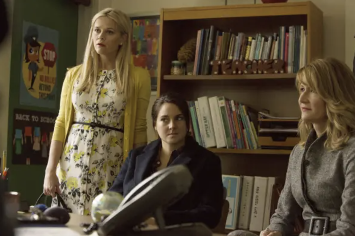 confused faces from big little lies