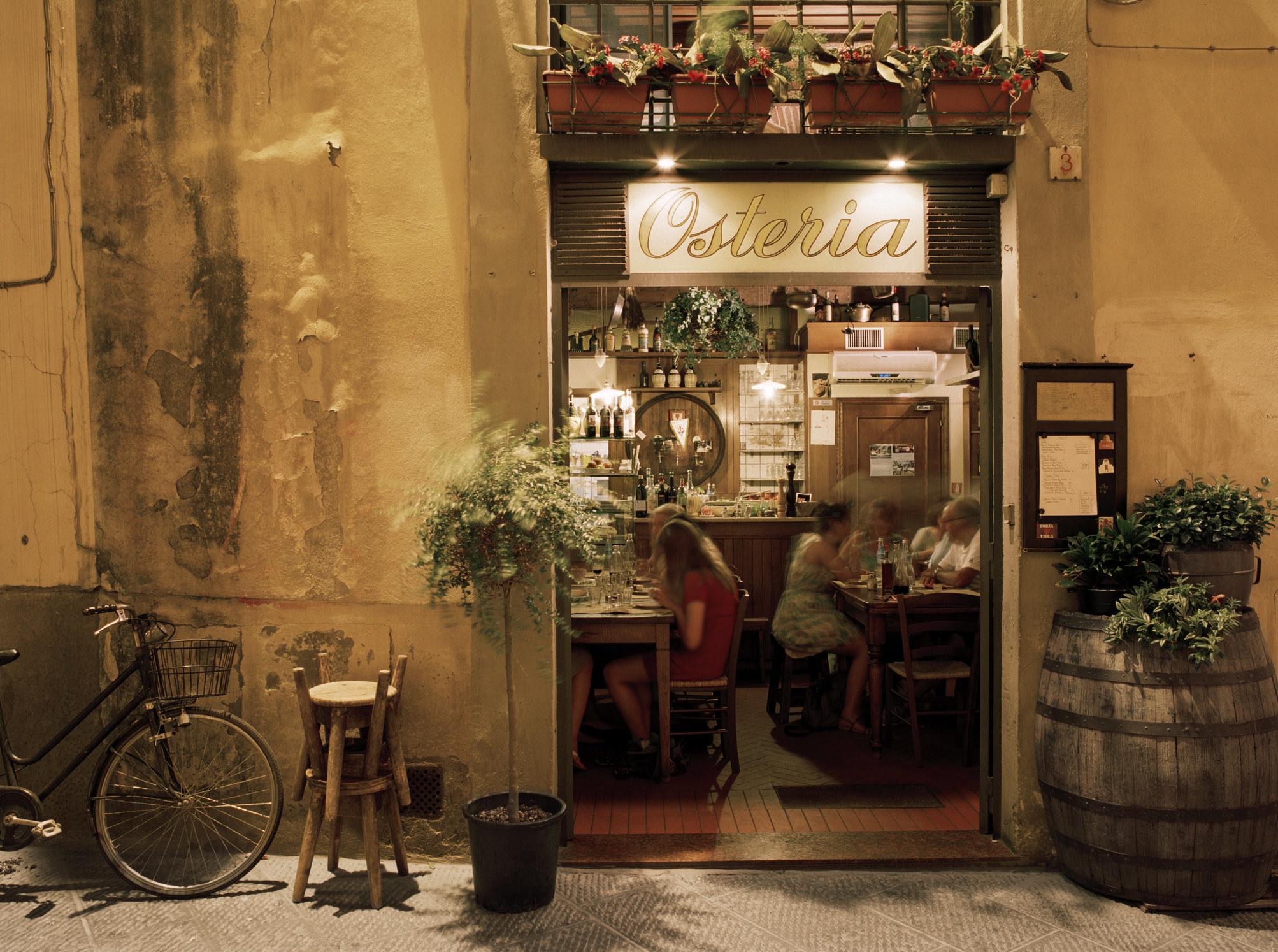 A cute Italian Osteria.