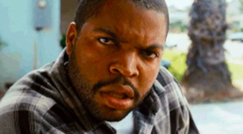 Ice Cube looking confused