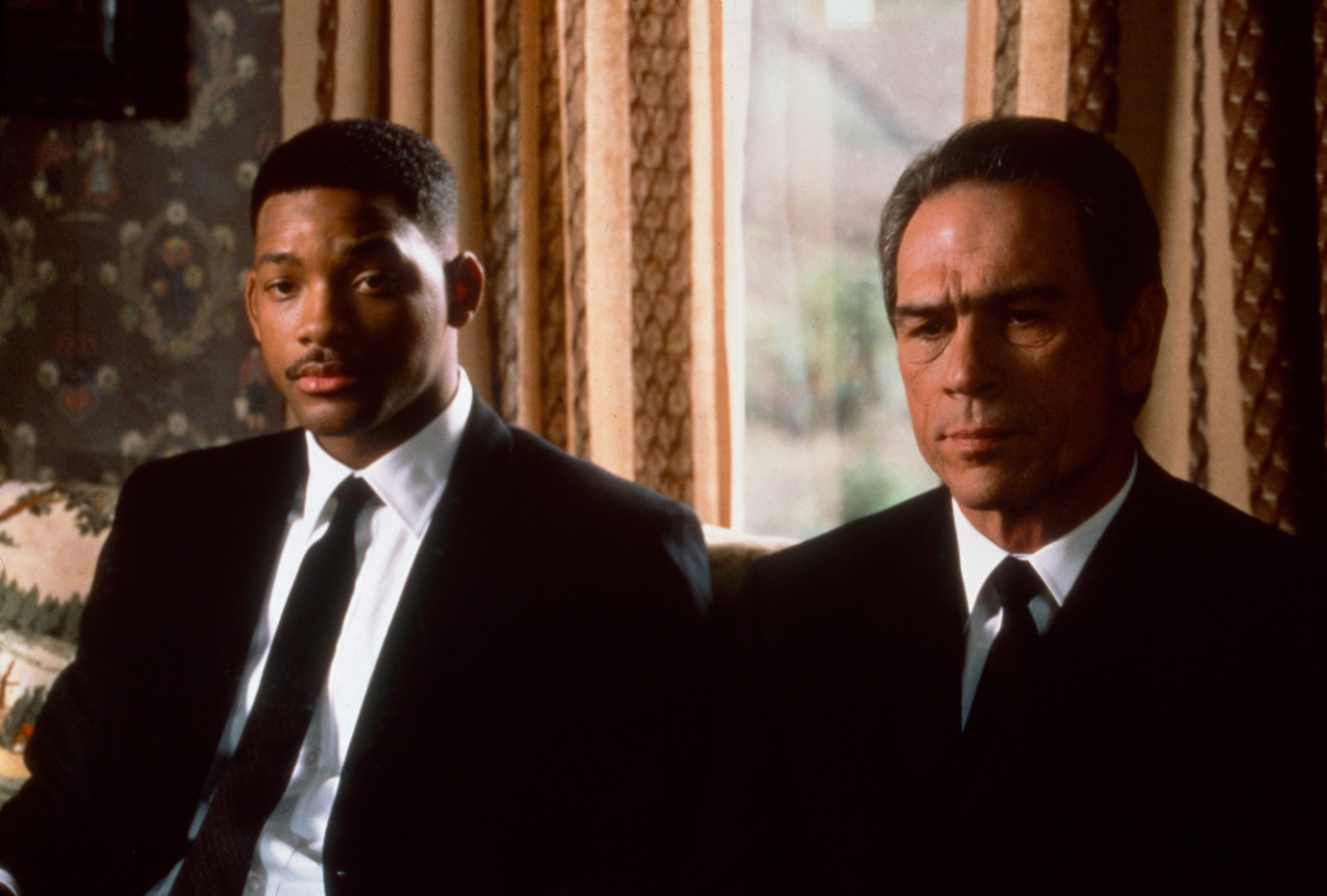 from left: Will Smith, Tommy Lee Jones