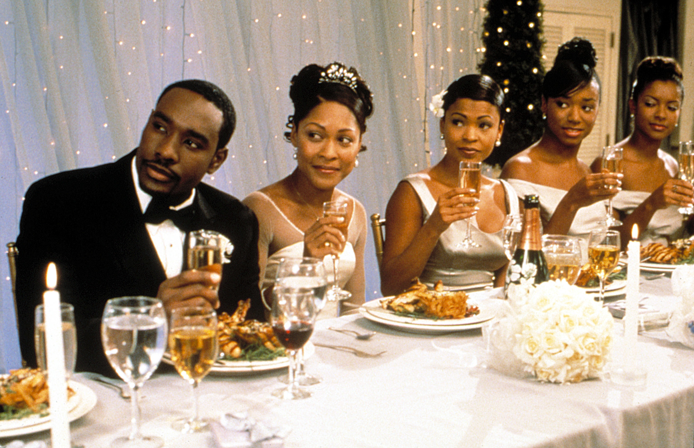 Wedding scene from The Best Man