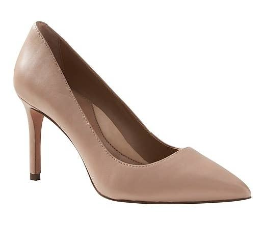 The nude pumps