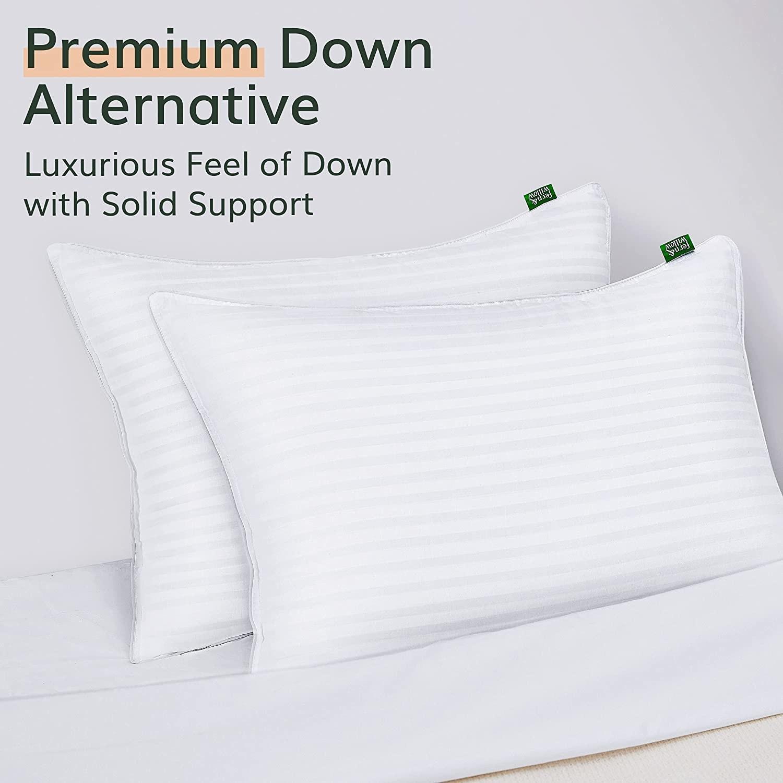 two white pillows