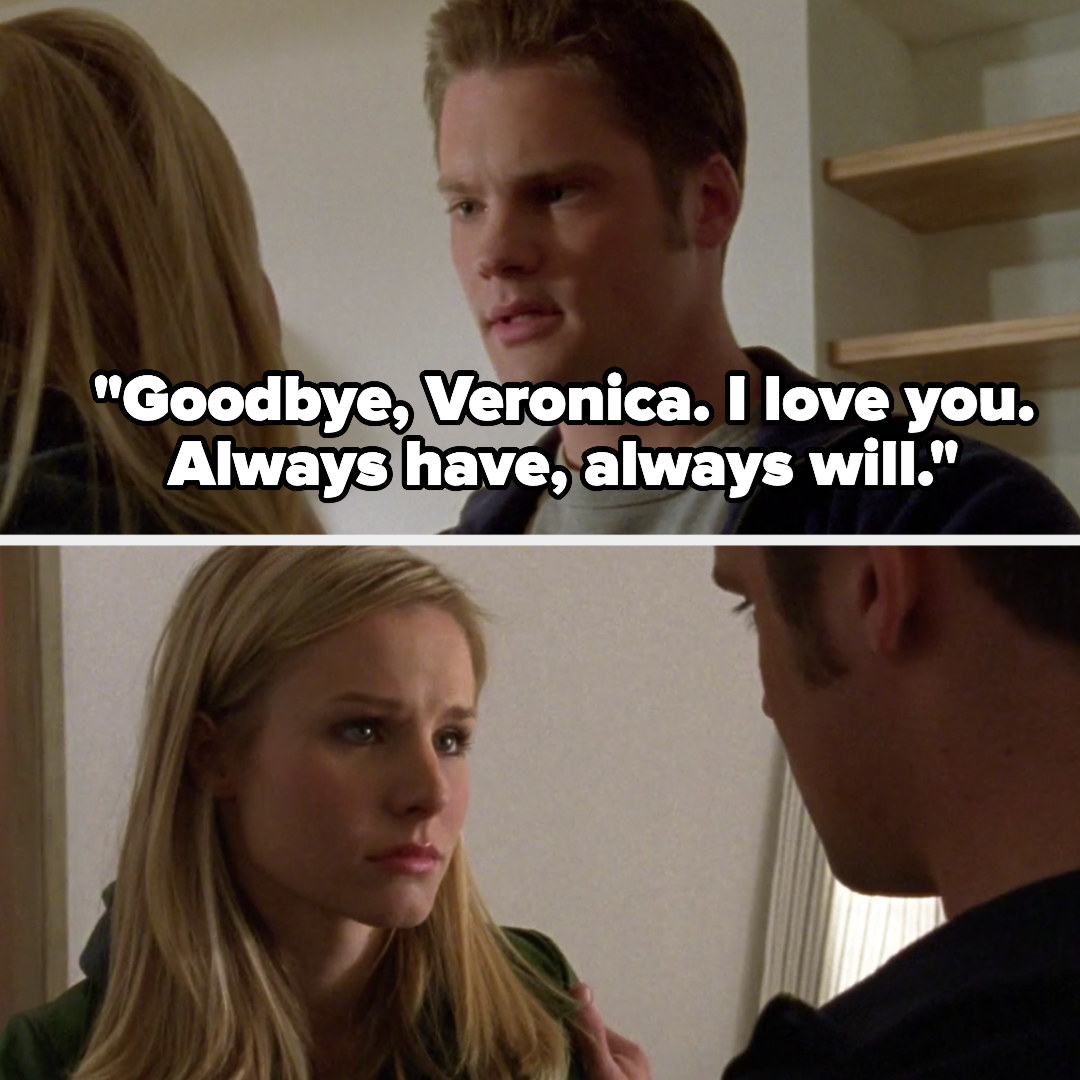 Duncan tells Veronica goodbye and that he loves her