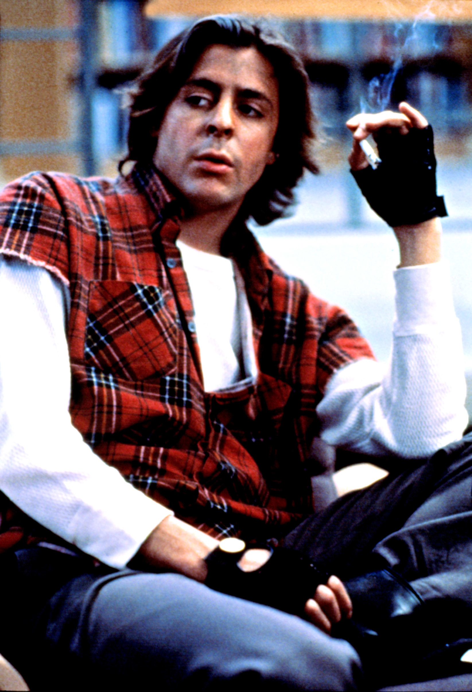 """Bender smoking a cigarette in """"The Breakfast Club"""""""