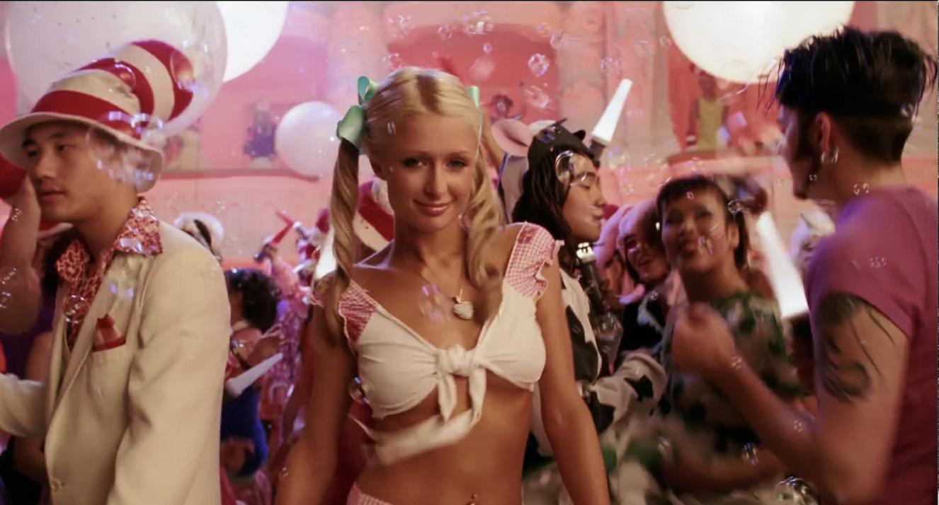 Paris Hilton at the rave