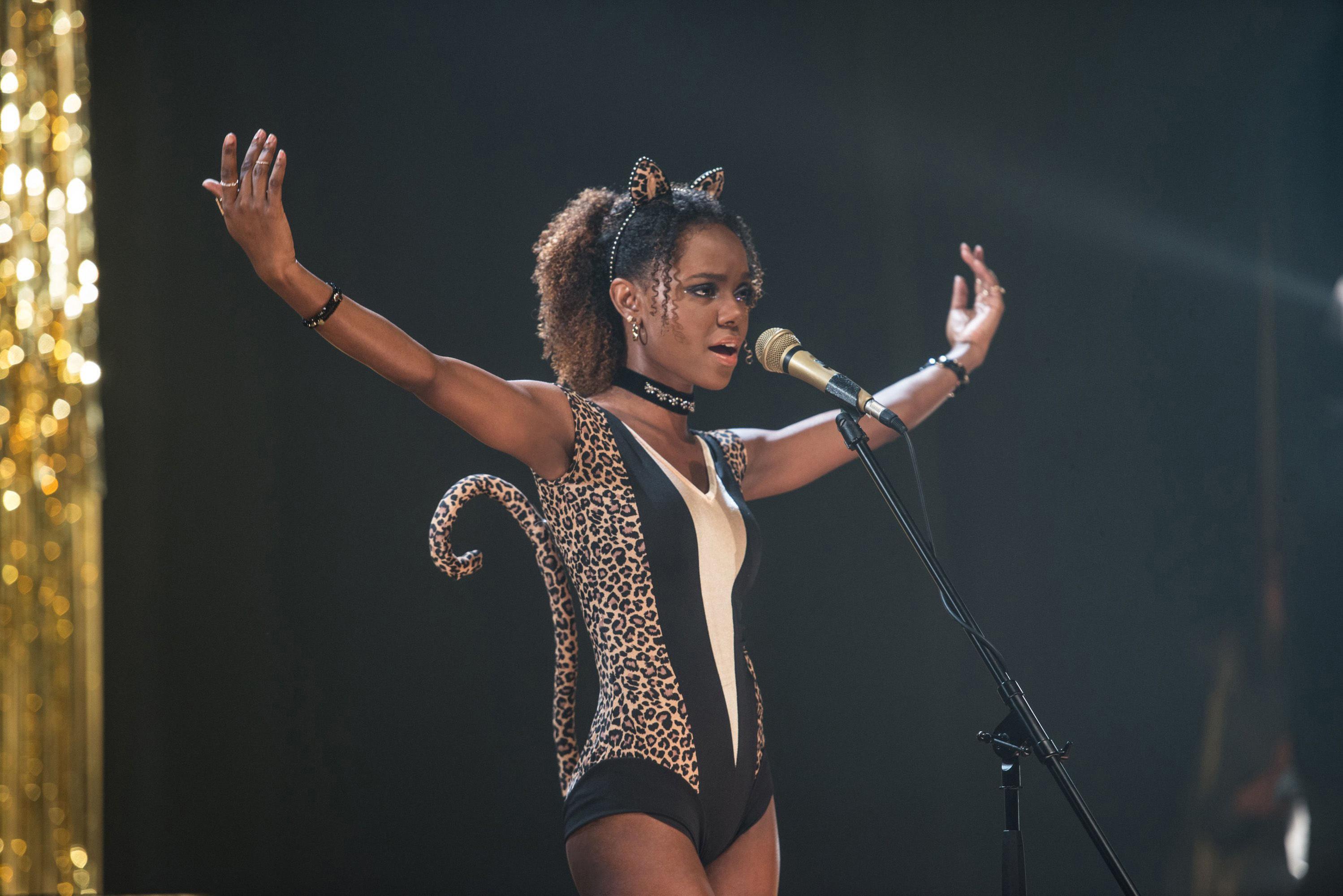 Ashleigh Murray performing as Josie