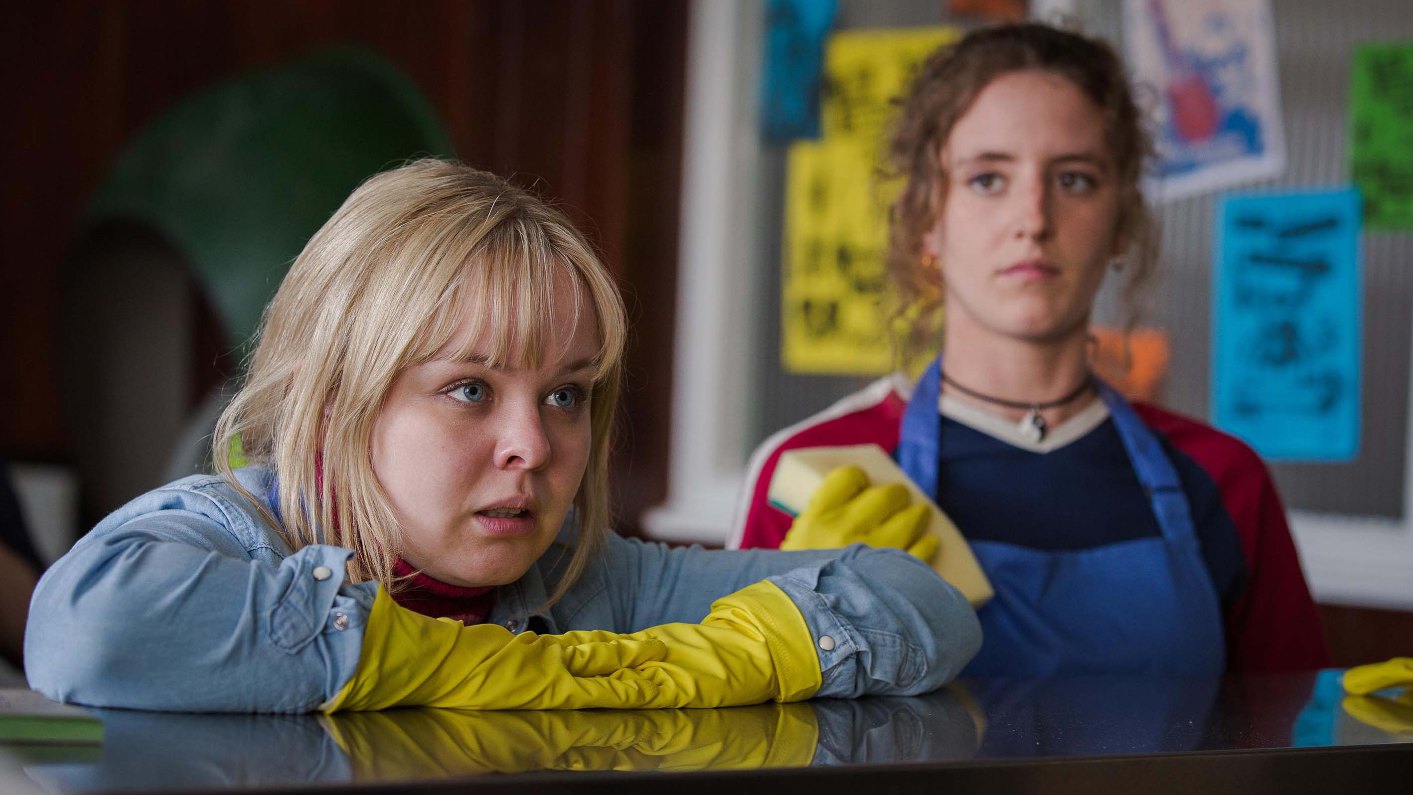 """Nicola Coughlan and Louisa Clare Harland on """"Derry Girls"""""""