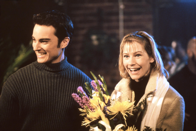 Kerr Smith and Meredith Monroe in Dawson's Creek