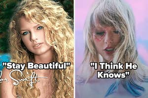 """Taylor Swift """"Stay Beautiful"""" and """"I think he knows"""""""