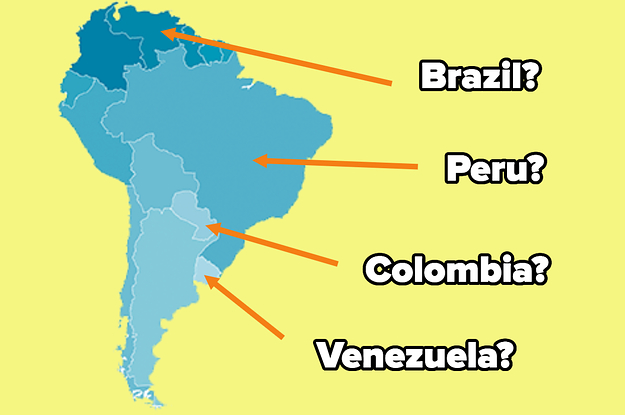 If You Get 9/12 On This South America Geography Quiz, You Truly Are A Map Master