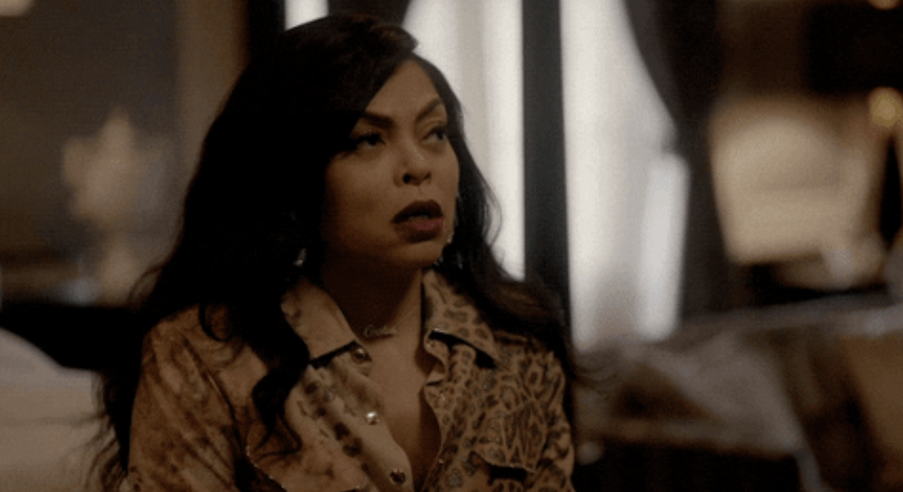 """Cookie from """"Empire"""" rolling her eyes"""