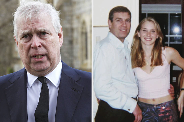 Prince Andrew Has Been Served With A Sexual Abuse Lawsuit By Jeffrey Epstein Accuser Virginia Giuffr ...