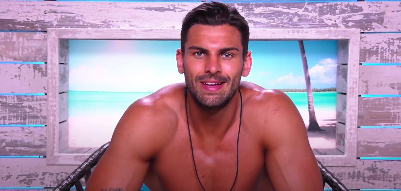Adam talking in the Beach Hut