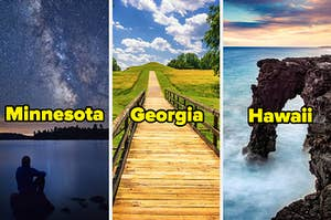 Various National Parks