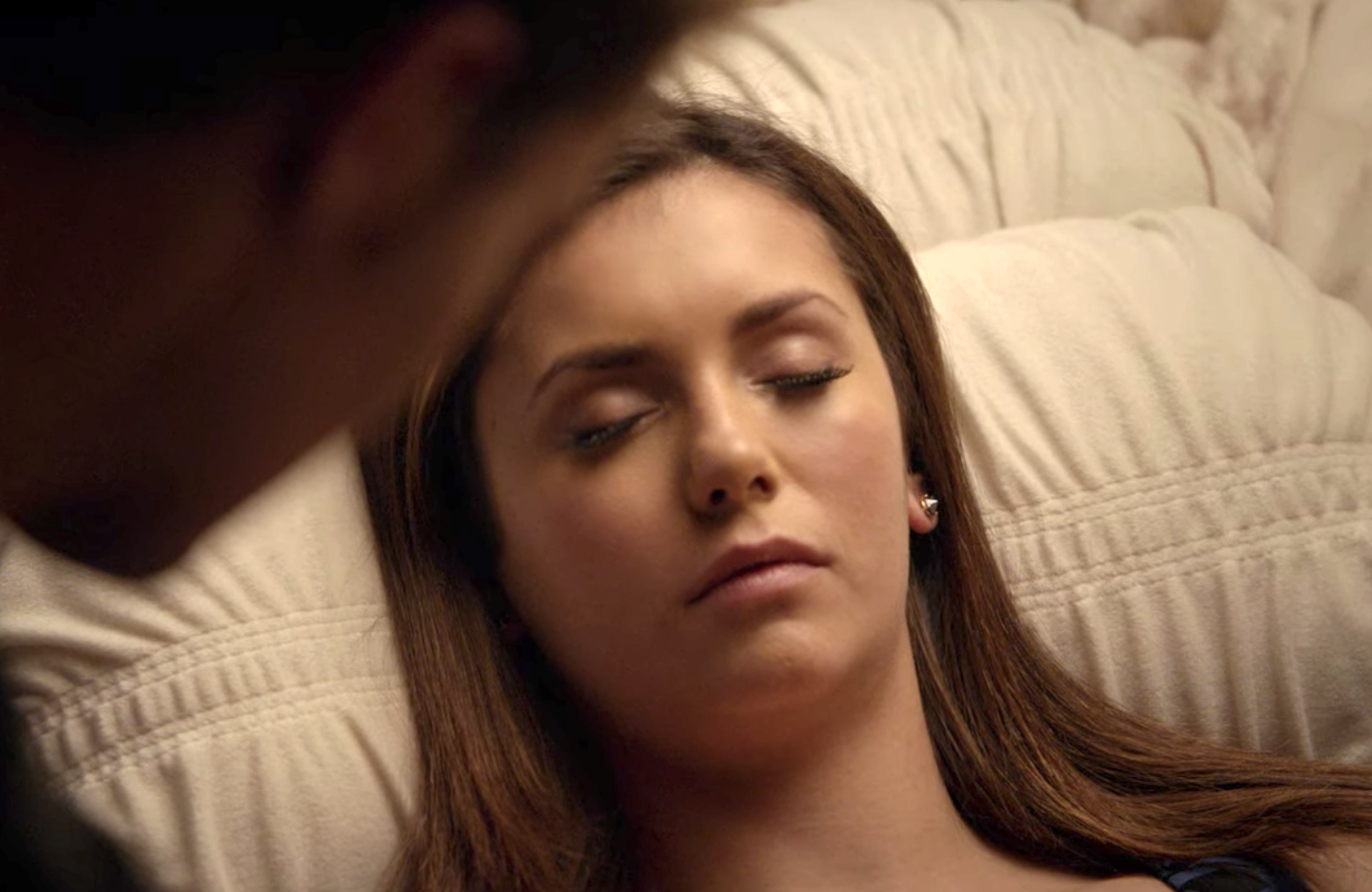 Elena in her magical coma