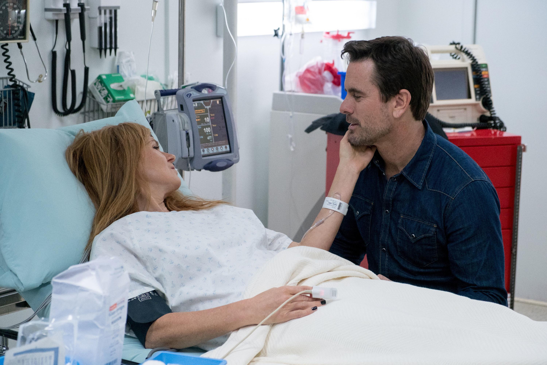 Reyna in the hospital