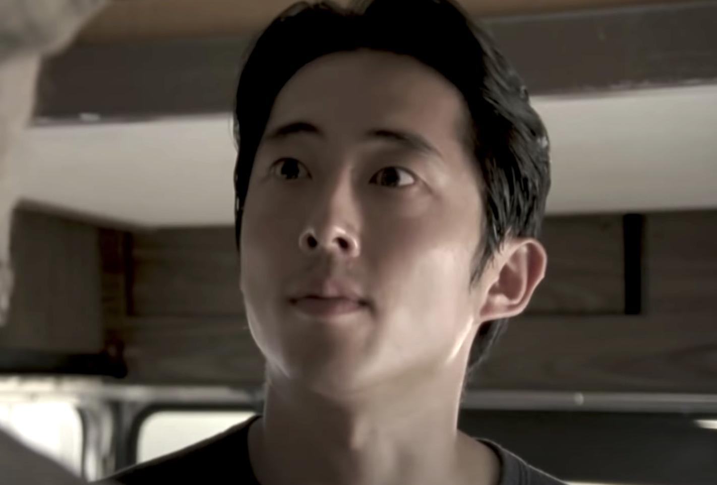 Glenn with wide eyes