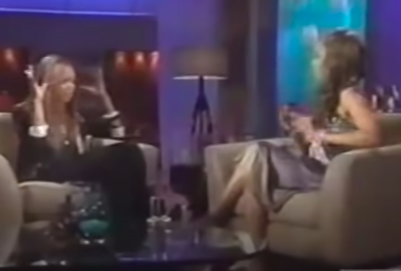 Naomi and Tyra hash it out on live TV