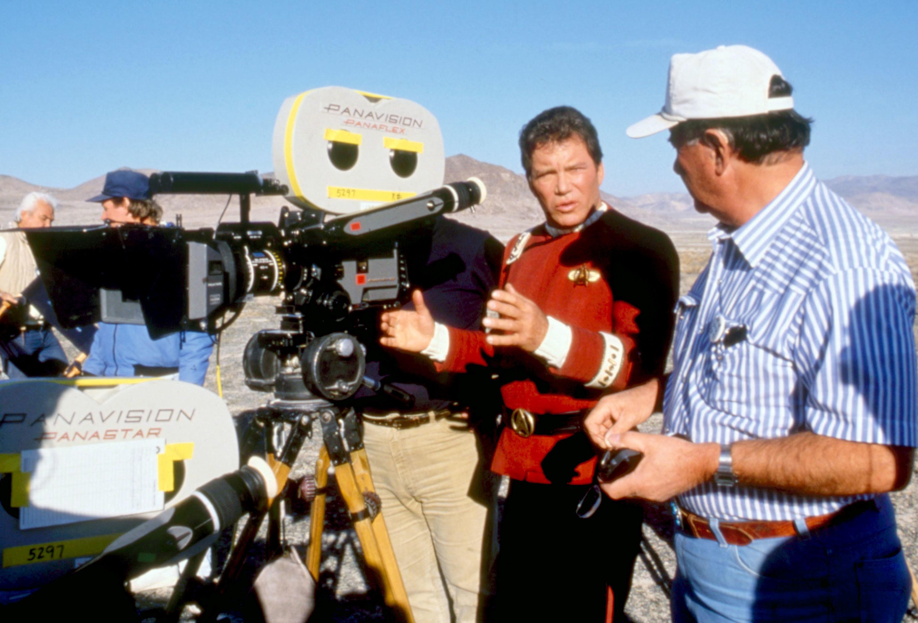 Shatner directing the doomed film