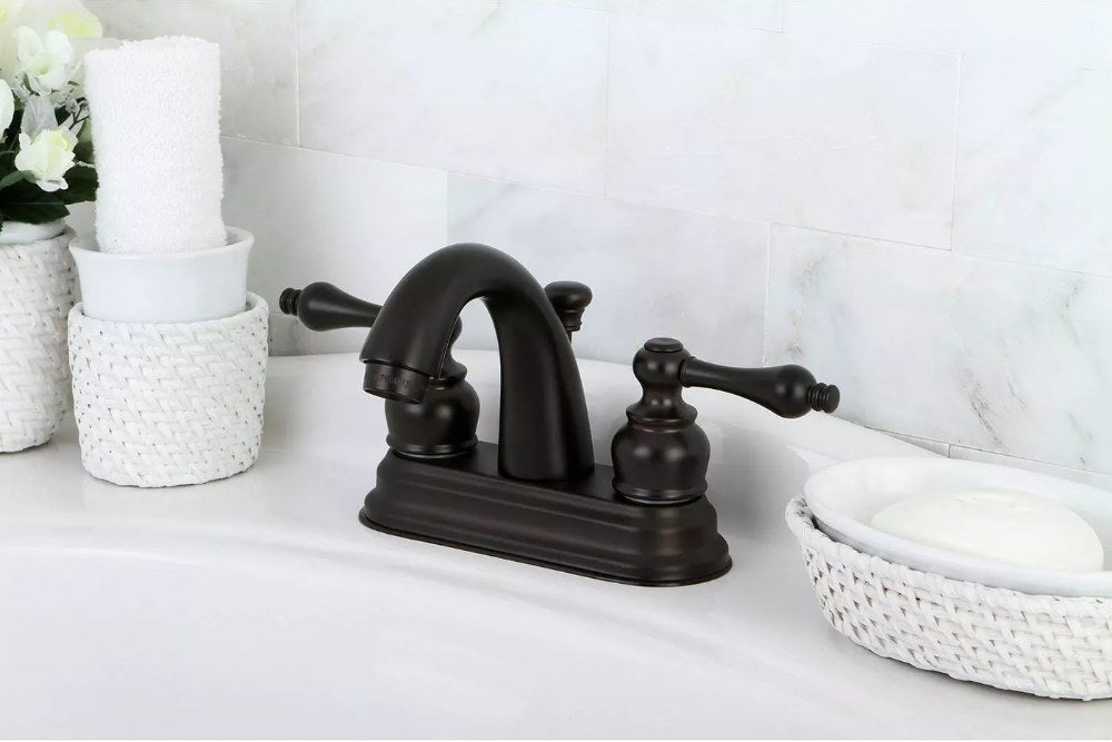 The faucet in the color Oil Rubbed Bronze