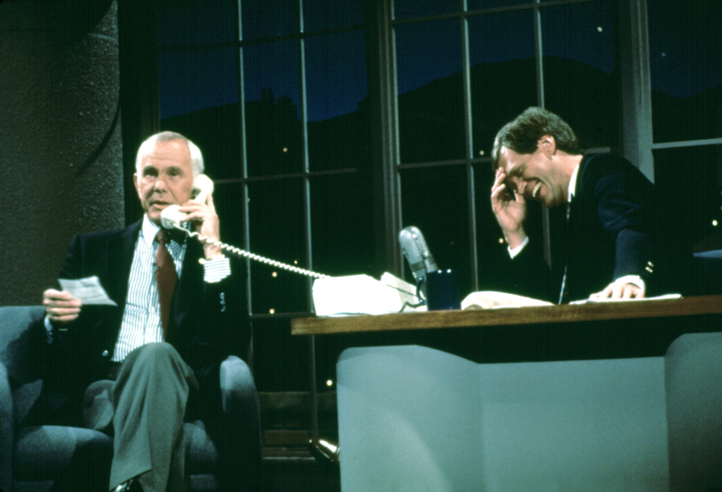 Carson on Letterman