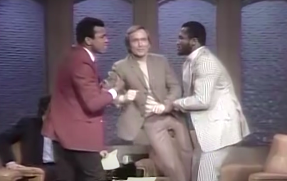 they team up to pick up host Dick Caveatt