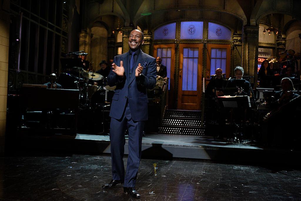 Eddie Murphy hosting an episode of SNL