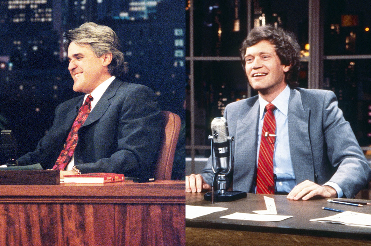 each host at the desk on his respective show