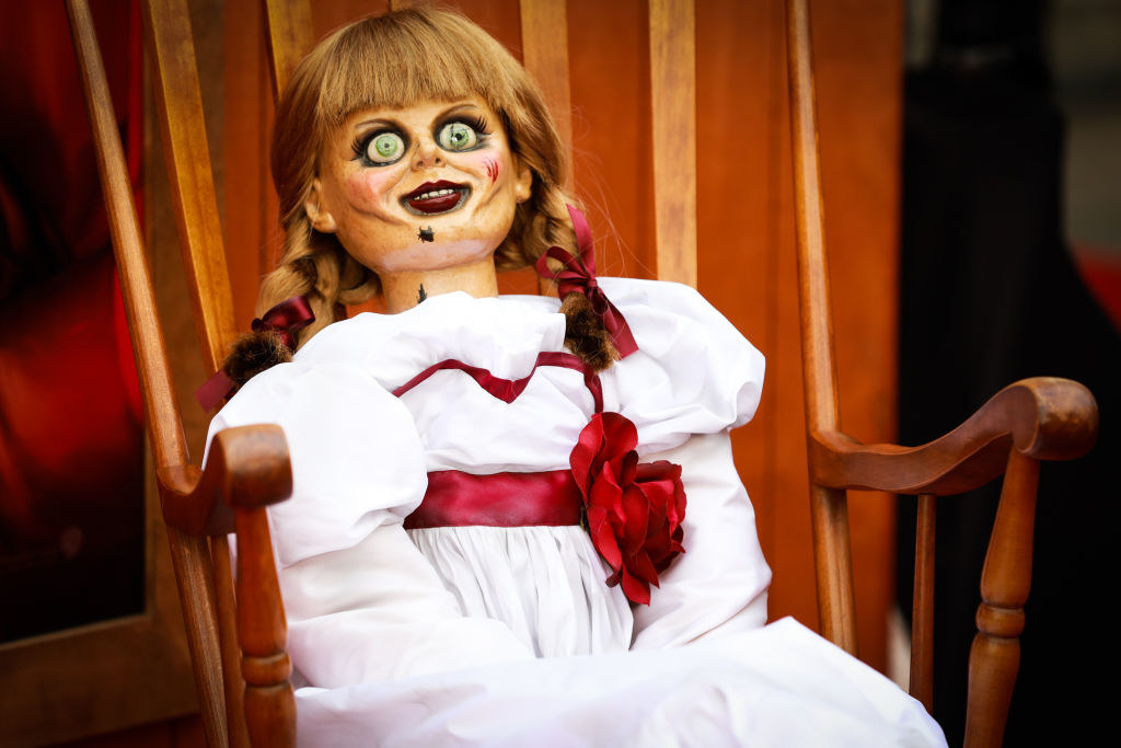 Annabelle doll from the movie