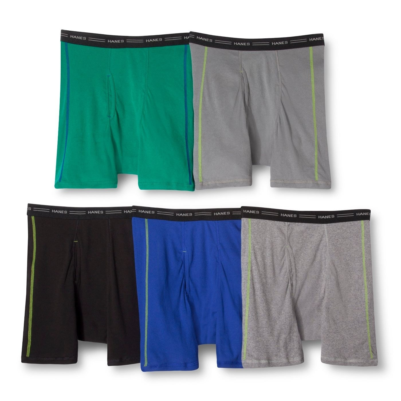 the boxers shown in multiple colors