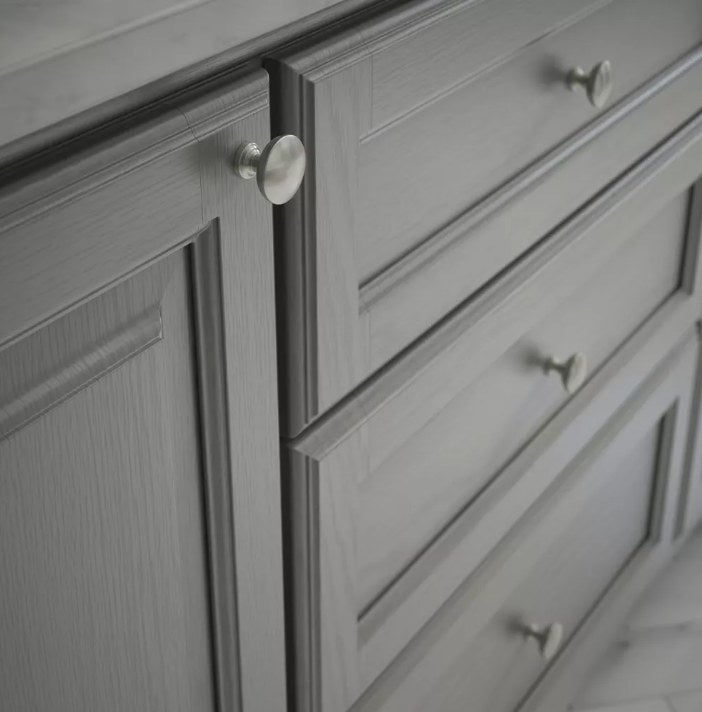 The cabinet knobs