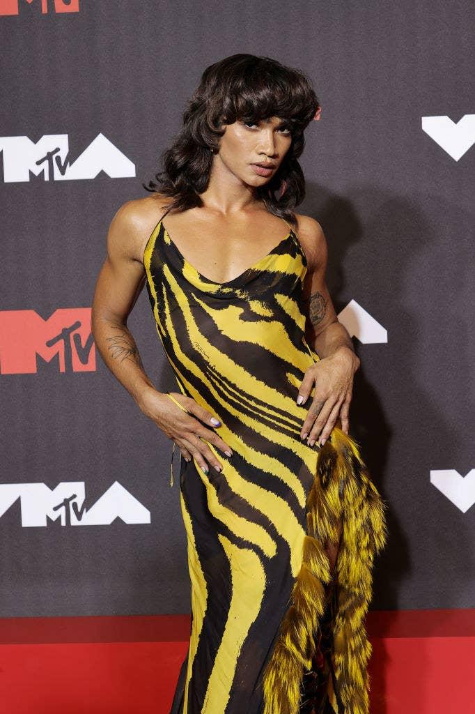 Bretman Rock attends the 2021 MTV Video Music Awards