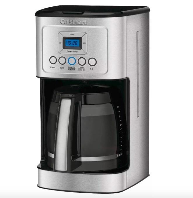 Image of Cuisinart coffeemaker.