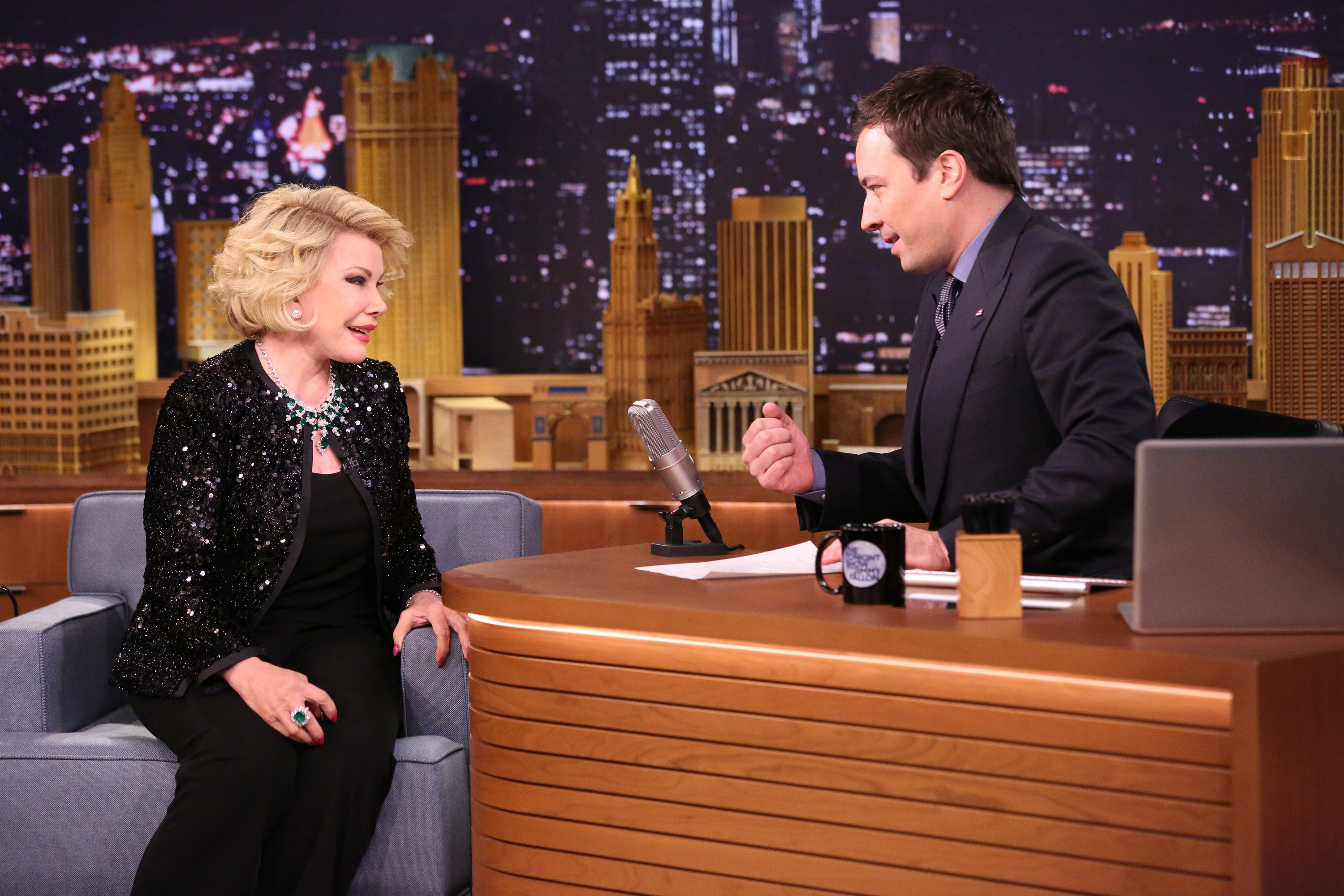"""Joan Rivers on """"The Tonight Show"""" with Jimmy Fallon"""