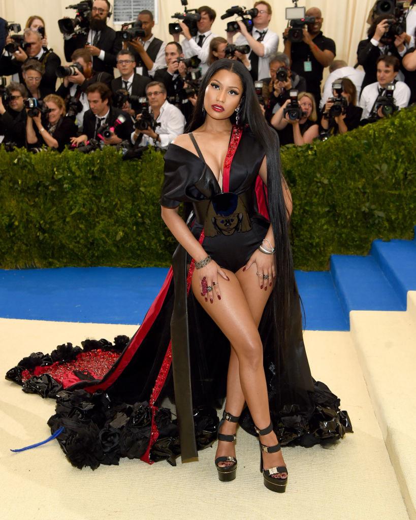 "Nicki Minaj attends the ""Rei Kawakubo/Comme des Garcons: Art Of The In-Between"" Costume Institute Gala"