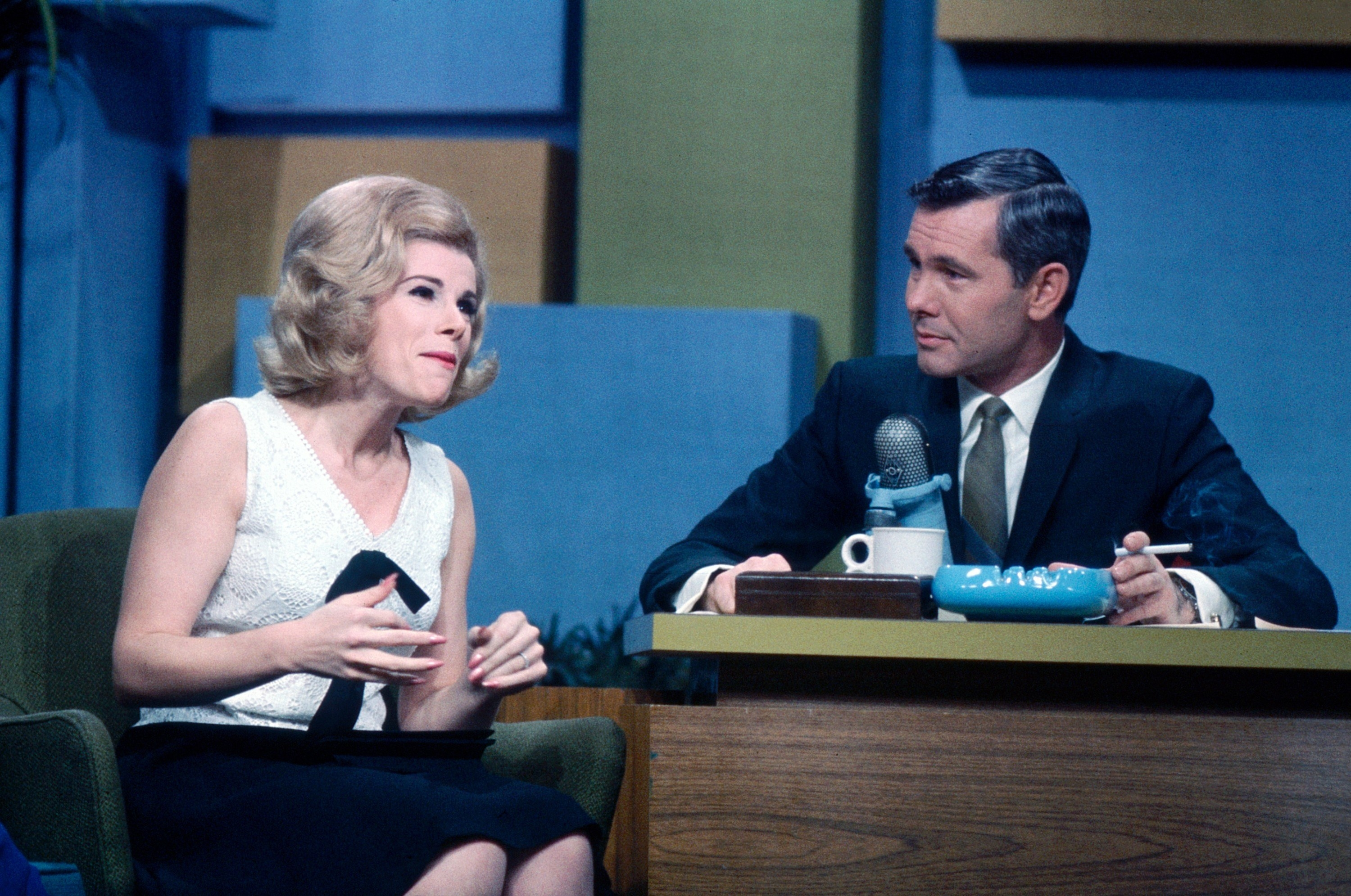 """Joan Rivers as a guest on """"The Tonight Show"""""""