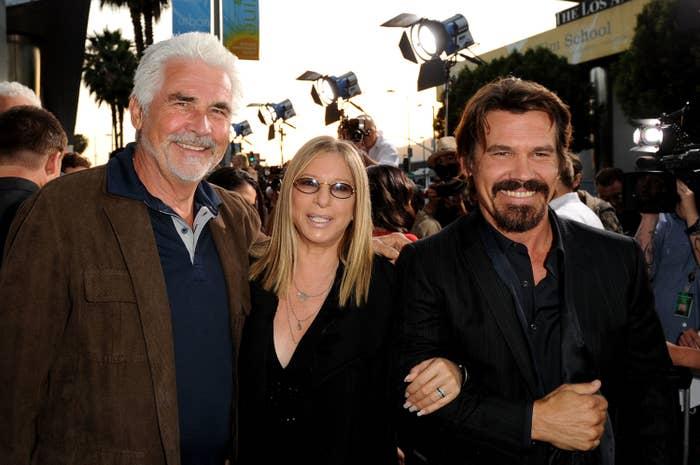 James, Barbra, and Josh smiling together