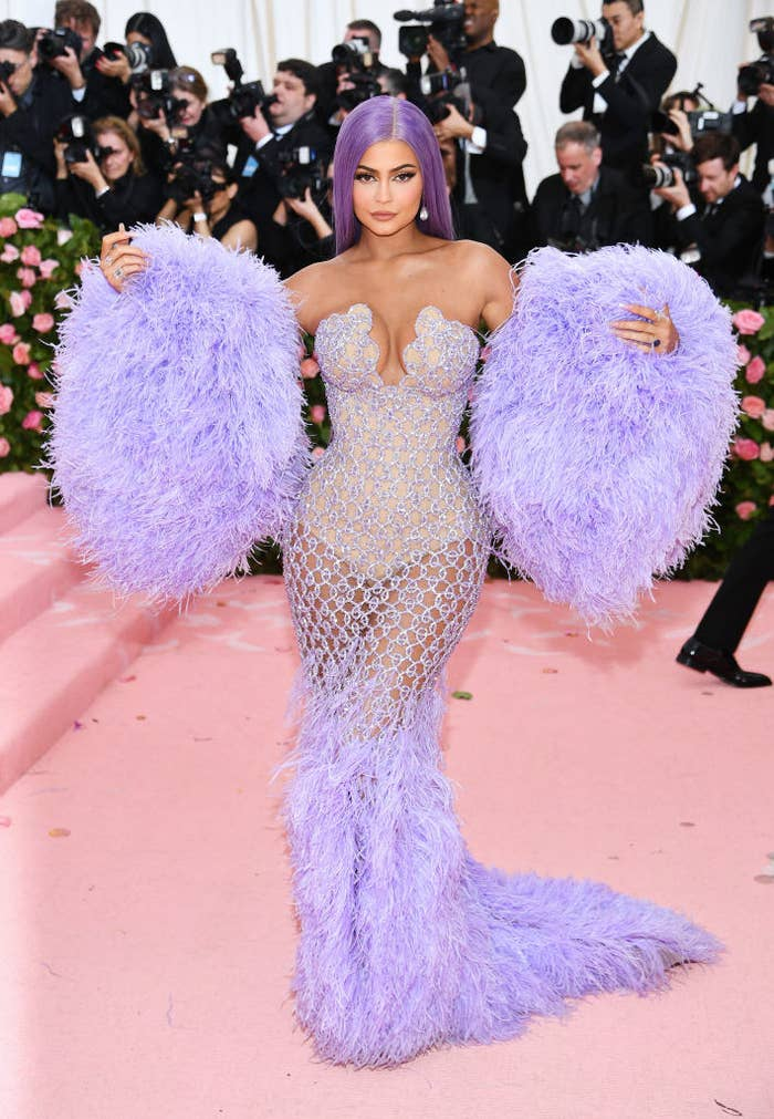 Kylie Jenner attends The 2019 Met Gala Celebrating Camp: Notes on Fashion